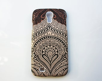 Vintage Mandala Samsung Galaxy S4 case Hard Shell Skin Cover Case Wallet