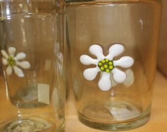 Daisy Dot Drink Glasses