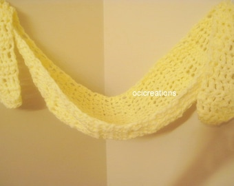 Baby Hammock Photo Prop In Light Yellow