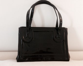 Fantastic Black Patent Purse
