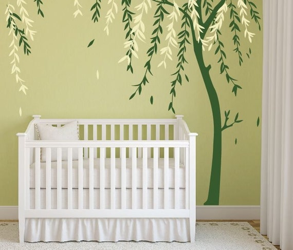 Baby Boy Nursery Ideas Stick On Wall Art Tree Decals For Walls Wall