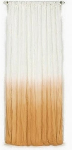 Ombre Ocher Tie Amp Dye Curtains By Ohanahomedecor On Etsy