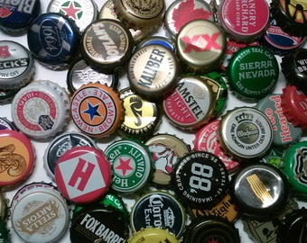 Craft 10 Beer Bottle Caps For Your Projects Lucky