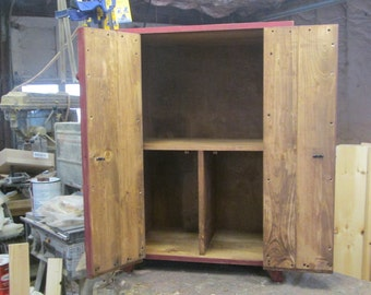 Two Door Book Cabinet