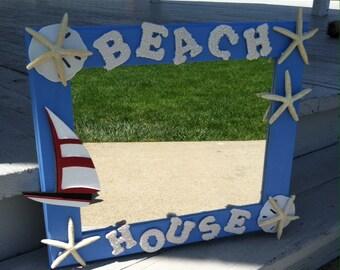 SALE - Beach Decor - Beach House Mirror (MR003)