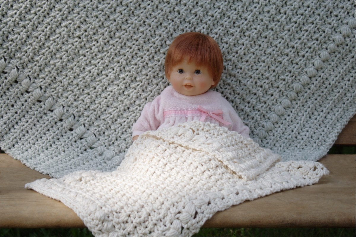 Crochet Pattern For Doll Blanket : Crochet Pattern Doll Blanket Pattern Baby by ...