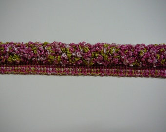 """1/2"""" frieze cording in pinks and lime"""