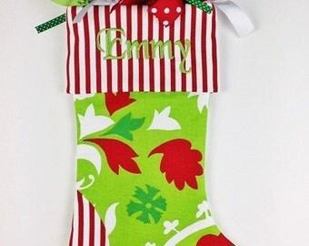 Christmas Stocking//Personlized Christmas Stocking//Christmas Stockings