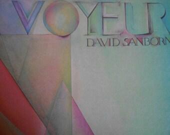 David Sanborn - Voyeur - vinyl record