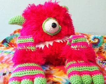 """OOAK Monster Plush """"Millie"""""""