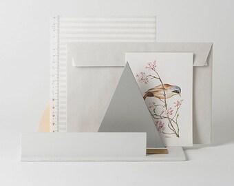 Plateau de table pour stylos et cartes de visite