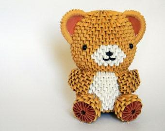 3D Origami Big Teddy Bear