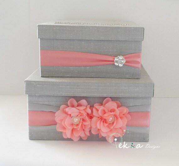Wedding Gift Card Mailbox : Wedding gift card box/ wedding card box / money box / wedding card ...