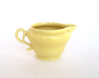 Franciscan El Patio Cream Pitcher - Yellow