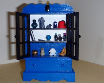 Doctor Who inspired Miniature Tardis Cabinet Collection On SALE