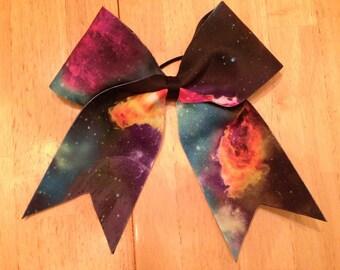 Galaxy Cheer Bow