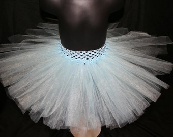 Frozen tutu, Light Blue Tutu Skirts, Children's Tutu Skirts, Newborn to 6T Tutus, Blue Tutus, Light Blue Tutu, Childrens Tutu Skirts