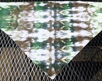 Tie-Dyed Doggie Bandana - Large