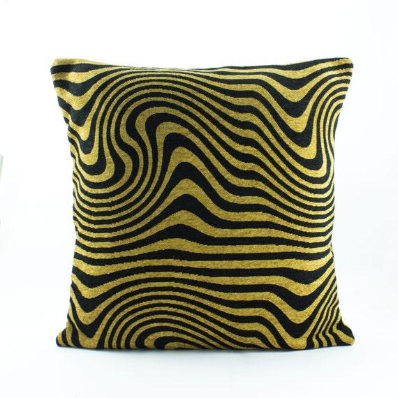 Animal Print Euro Pillow Shams : Zebra Tiger Print Euro Sham 26x26 Pillow cover in by Fabricasia