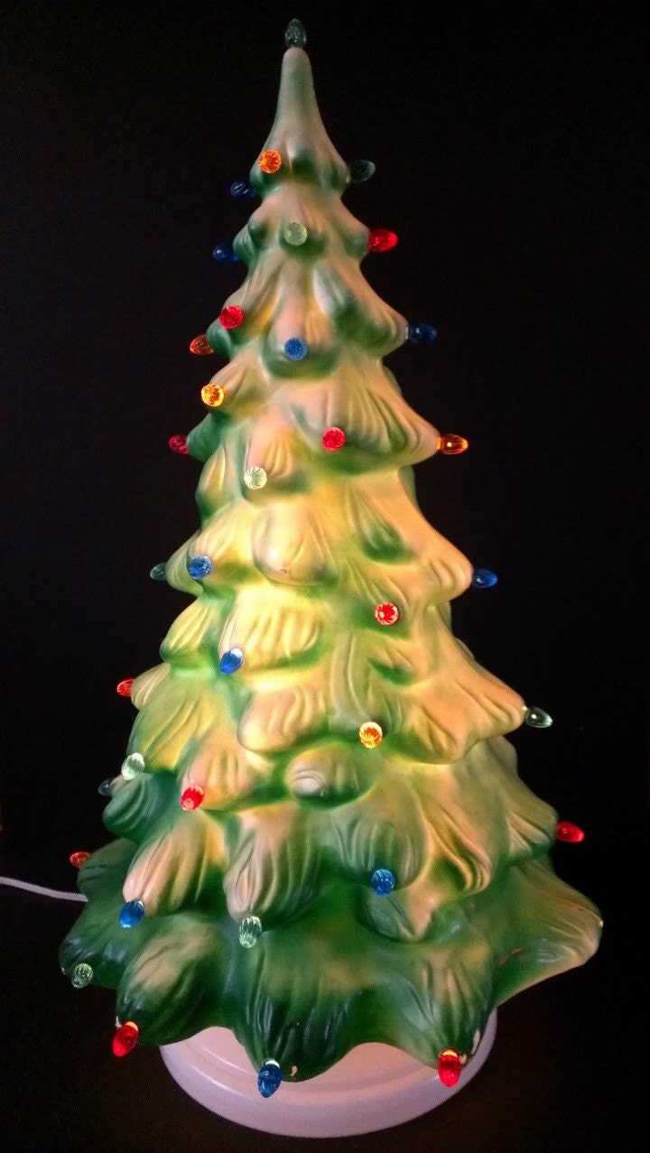 Christmas Blow Molds >> Union Products Co Lighted Blow Mold Christmas Tree
