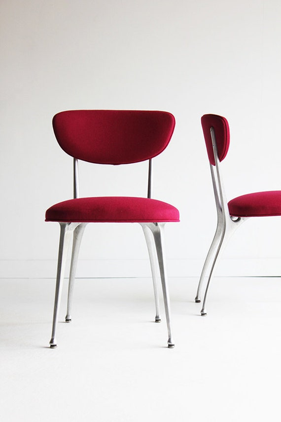 Gazelle side chairs for shelby williams