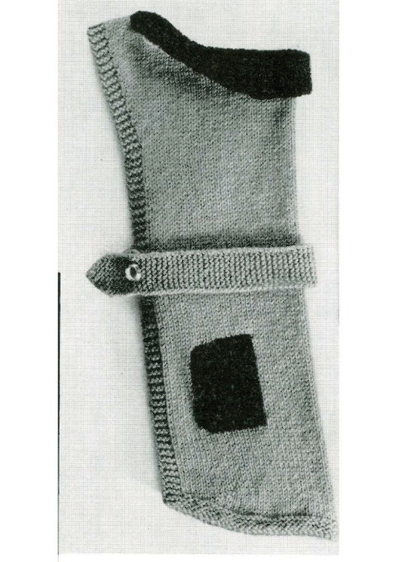 Dog Coat Knitting Pattern Uk : Vintage knitting pattern to knit dog coat in by ozgirlfromoz