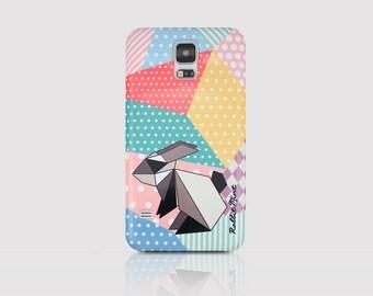 Samsung Galaxy S5 Case - Origami Rabbit (P00057)