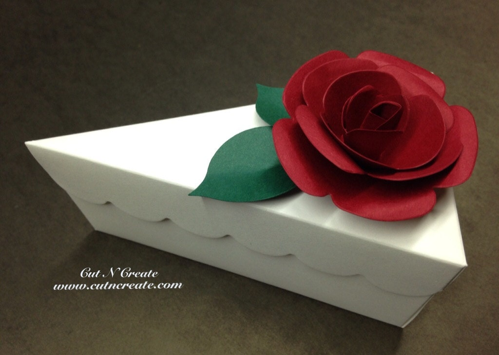 Cake Slice Boxes Cake Box Cake Slice Favors Cake Boxes Cake