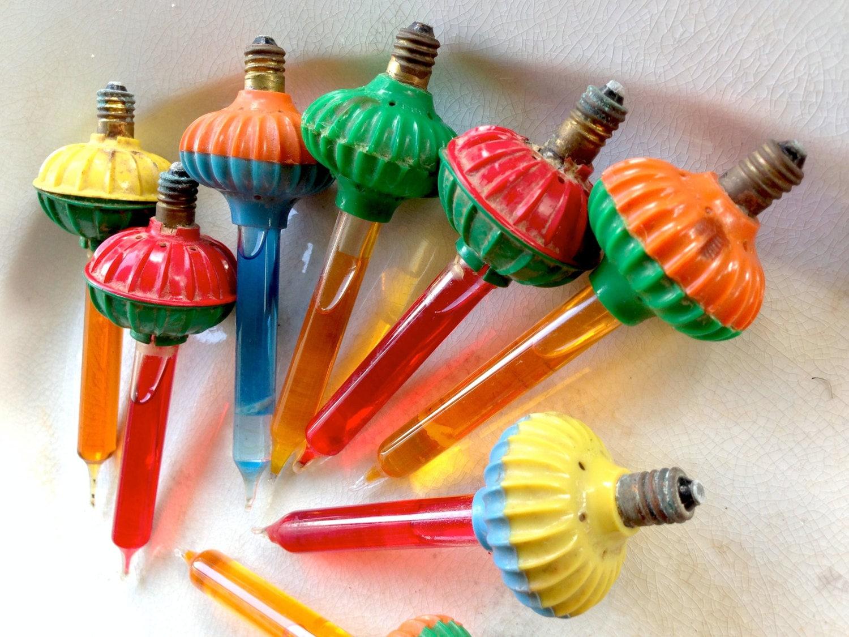 Vintage Christmas Bubble Light Noma Biscuit Bubble Light