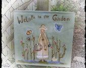 Welcome to the Garden, Terrye French, email pattern packet