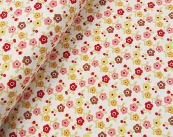 Farm Fresh - Flowers(Cream) - October Afternoon - Riley Blake Designs