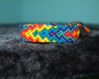 Radiating Diamond friendship bracelet