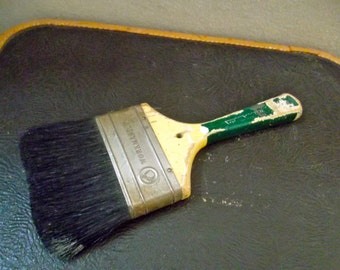 Vintage Wooden Paintbrush