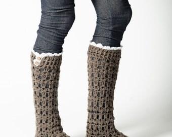 Ruffled boot socks Etsy