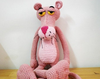 Amigurumi Free Pattern Pink Panther : pink panther crochet pattern Book Covers