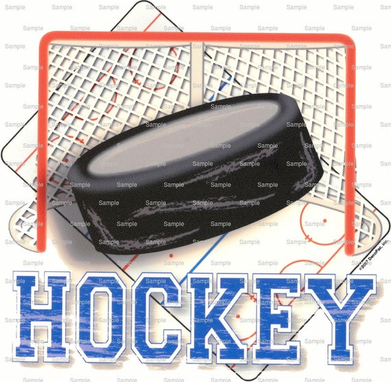 Hockey Puck Birthday - Edible Cake and Cupcake Topper For Birthday's and Parties! - D899