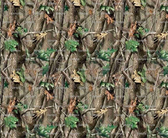 Camo Hunting Birthday Background - Edible Cake and Cupcake Topper For Birthday's and Parties! - D3930