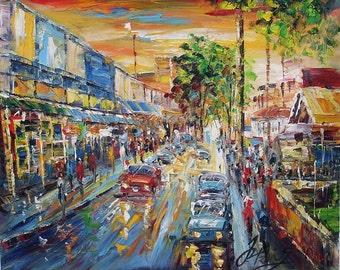 Front Street in Lahaina,HI-Pen King-6153
