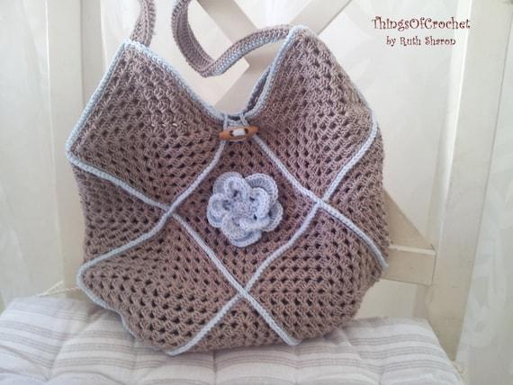Beautiful Crochet Bags : All Bags & Purses
