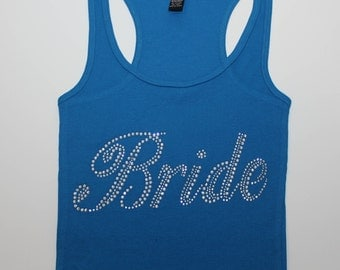 Bridal Tank Top - Bridesmaid Tank Top - Bride Tank Top