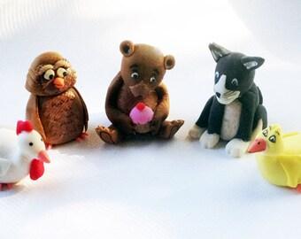 Little Bear Inspired Cake toppers