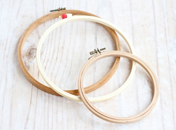 Vintage embroidery hoops set of by meangleanalchemist
