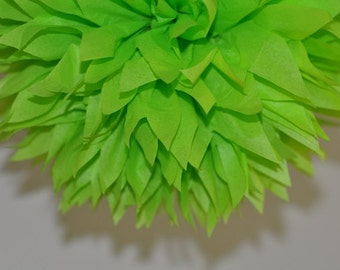 Lime Green Mexican Fiesta Decorations, Lime Bridal Shower Decorations, St. Patrick's Day Decorations, Neon Green Birthday Party Decorations