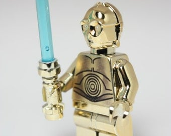 Tinkerbling custom Lego Star Wars C-3PO Replica