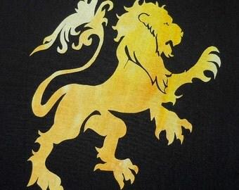 Easy Royal Lion Quilt Applique Pattern Design