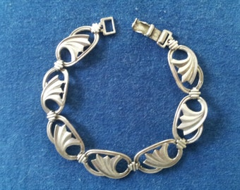 Vintage Sterling Bracelet Art Deco, W.E. Richards WRE