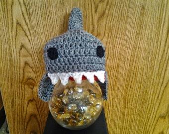 Crocheted Shark Hat / Animal Hat