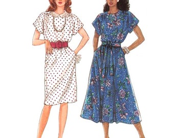 Simplicity Sewing Pattern 9602 Misses' Dress   in two lengths  Size:  H5  6-14  Uncut