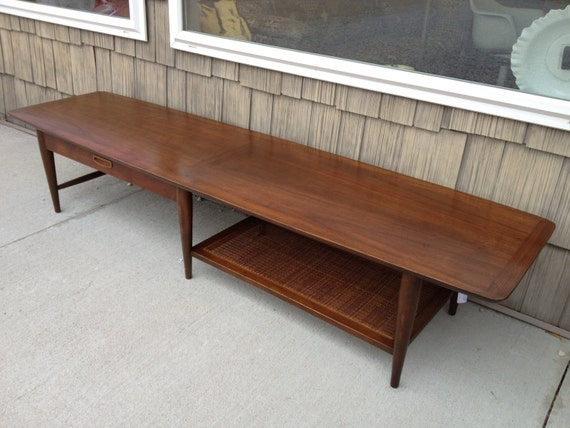 Soldmidcentury Modern Lane Coffee Table Extra Long