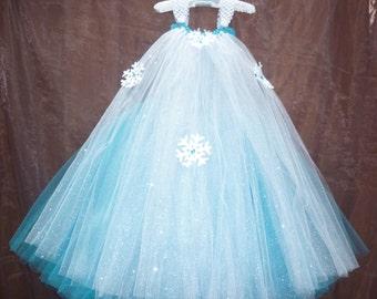 Frozen dress, Frozen party dress, Elsa dress, Frozen tutu dress,Queen Elsa dress,baby toddler frozen dress,frozen birthday dress,Frozen tutu